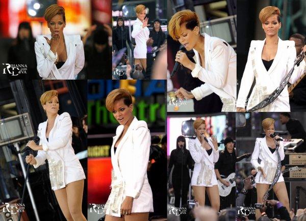 24 novembre 2009 rihanna au GMA
