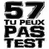 57 tu peux pas test