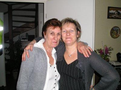 Ma grand-mère et ma mère
