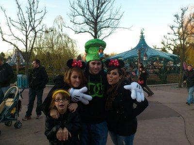 La famille a Disney :D