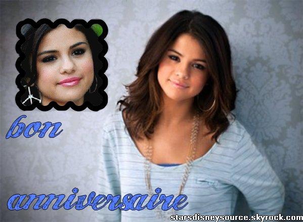 anniversaire de Selena