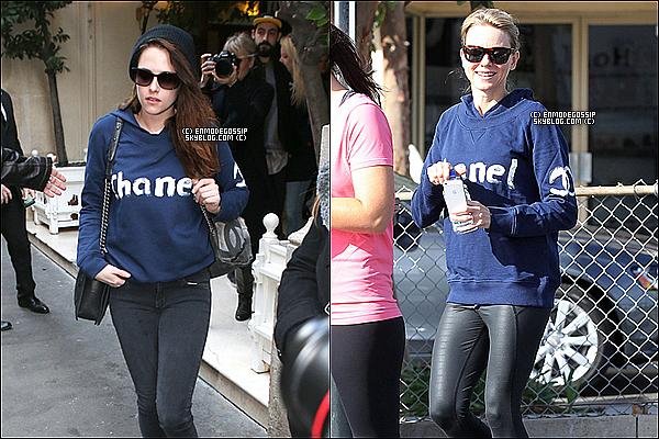 Kristen Stewart et Naomi Watts : Elles craquent pour le même sweat Chanel, mais qui le porte le mieux ?  Kris           PHOTOSHOOT   I   CANDIDS   I  FICTIONS  I  PUBLIC ÉVENTS   I   LIVRES   I   VIDEO FANMADE   I   OTHERS   I   SÉRIES   I   FILMS