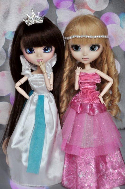 Les princesses du carnaval ♥