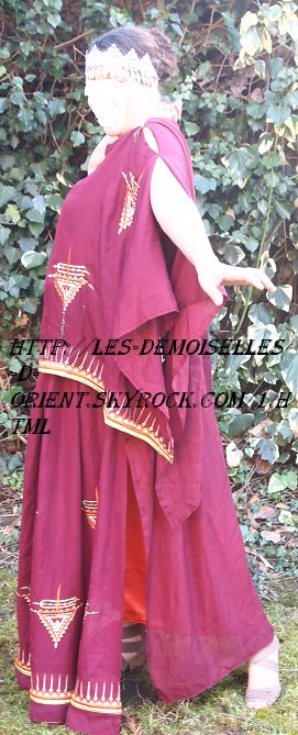 Robe traditionnelle chaouia