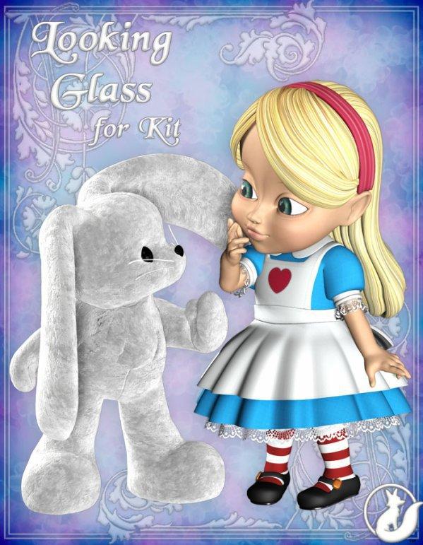 (u)(u)  LOOKING  GLASS :):)  (u)(u)  FOR KIT