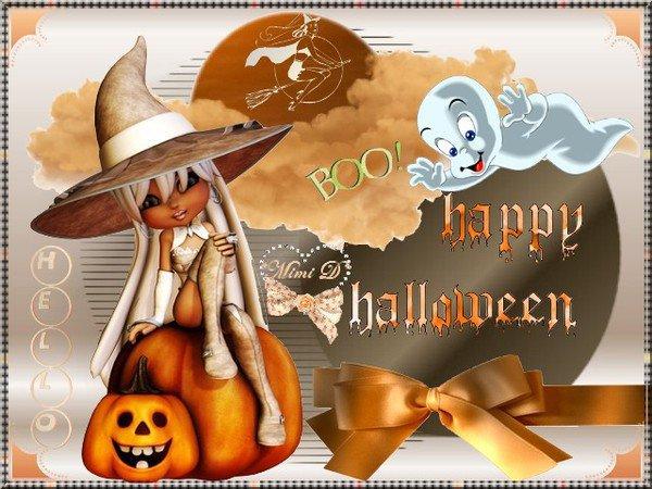 :: Cadeau pour mes amies du bolg  Belles-Images-Diverse .. Happy Hallowenn mes amies bisous votre Amie CLN13 //