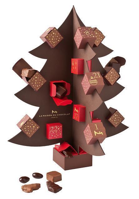Tres beaux sapin tout en chocolat rafiné (u) / spien toujour rafiné cany saga humm et beau   (u)