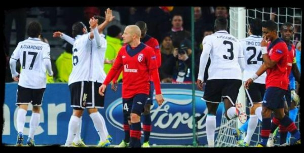 UEFA Champions League ☆ 6eme journée (Mercredi 5 Novembre 2012)
