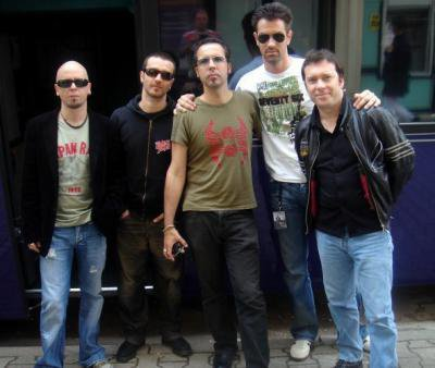 greg et ses musiciens pour la tournée de 2006