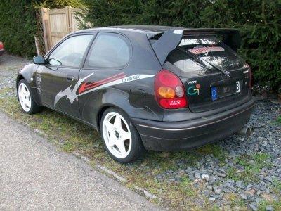 Toyota Corolla G6 WRC 1.6i 16V de 1999 série spéciale Carlos Sainz
