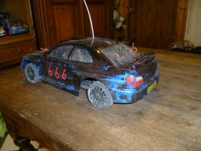Ma Stock Car Kyosho TF5 1/10