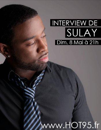 En interview Dimanche 8 Mai à 21h sur www.HOT95.fr