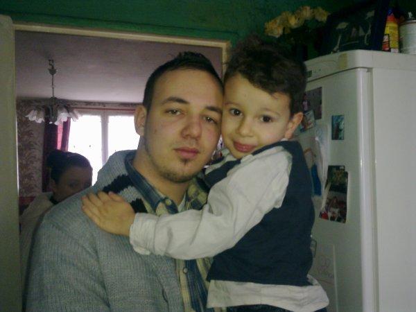 mon fils et mon petits fils