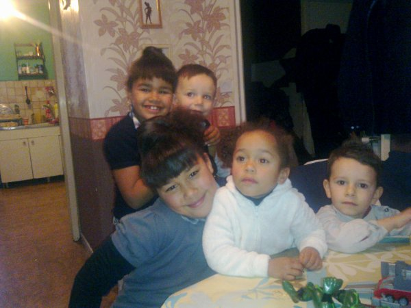 mes 5 petits enfants un noél magnif