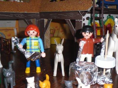 Un groupe de rock est arrivé a Chanon hier soir !!!