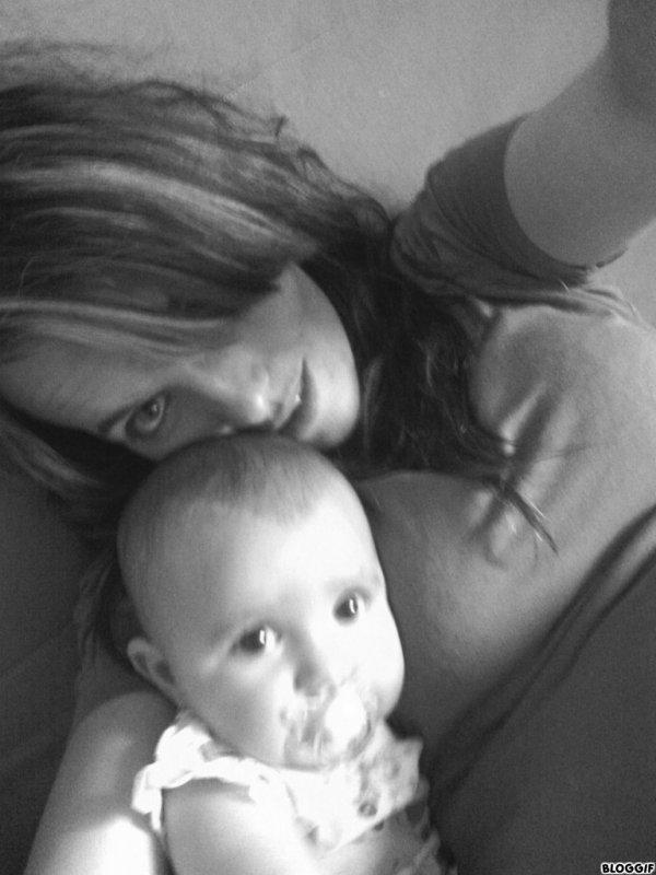 Ma deuxième fille et moi <3