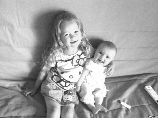 Mes deux filles <3