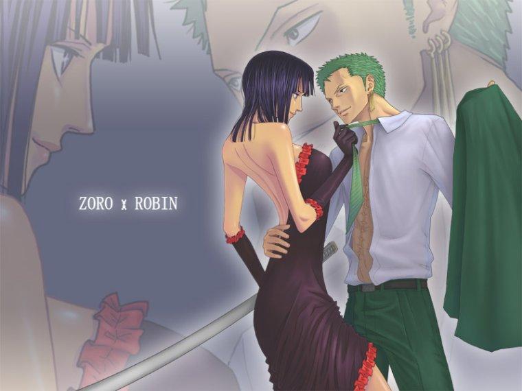 Zoro x Robin (2)