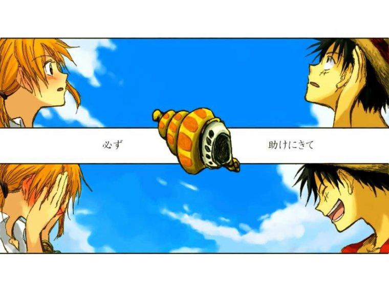 Luffy x Nami (2)