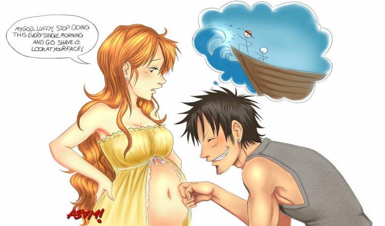 Luffy x Nami (4)