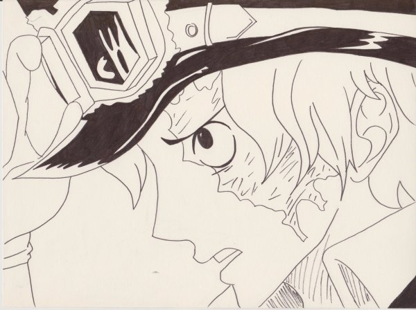 Dessin One Piece : Sabo (*////*)