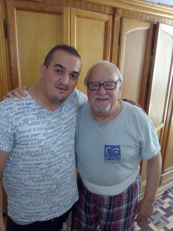 Moi et le grand acteurs algérien Mustapha preur