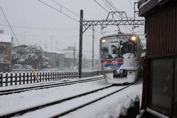 Il neige (-_-)