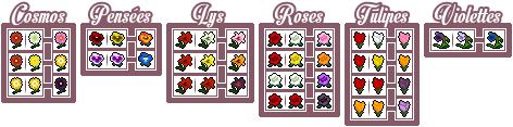 Les fleurs hybrides