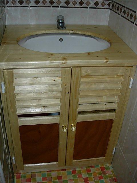 meuble lavabo sd bain