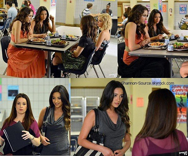 .Découvré l'épisode 3x3 de l'épisode Prettty Little Liars du nom: Kindgom Of The Bling  .