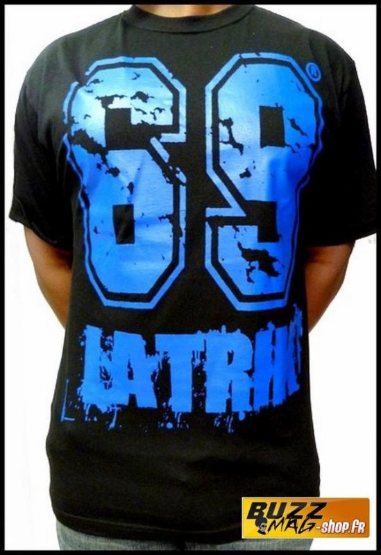 Tee Shirt 69 LA TRIK Big Logo Noir Bleu