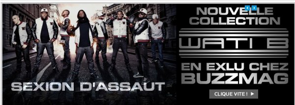 COLLECTION WATI-B DISPONIBLE SUR BUZZMAG-SHOP.FR