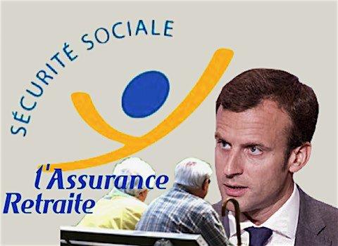 Macron declare la guerre aux retraites