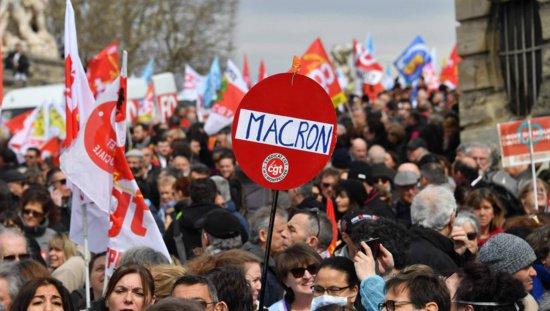 7 avril 2018 Le Parti communiste à l'offensive au côté des travailleurs