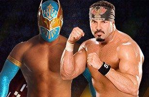 Sin Cara vs Chavo Guerrero