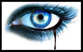 magnifique oeil bleu