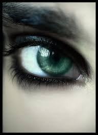 oeil vert