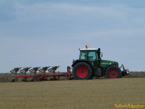 labour 2010 pour semis de colza ( 13 aout 2010 )