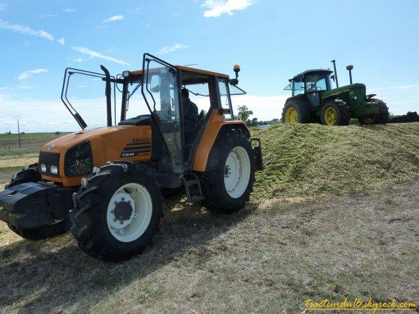 ensilage de maïs 2010 ( 24 aout 2010 )