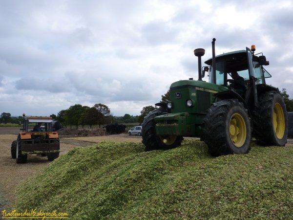 ensilage de maïs 2010 ( 28 et 30 aout 2010 )