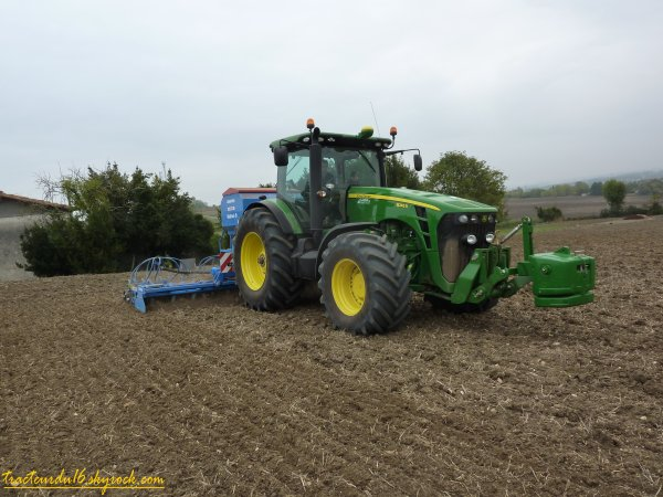 semis de blé 2010 ( 16 octobre 2010 )