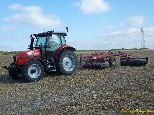 semis de blé et roulage 2010 ( 17 octobre 2010 )