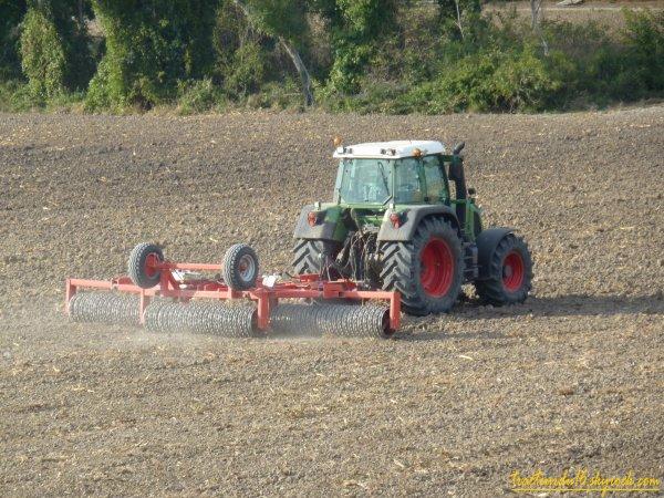 roulage de blé 2010 ( 18 octobre 2010 )