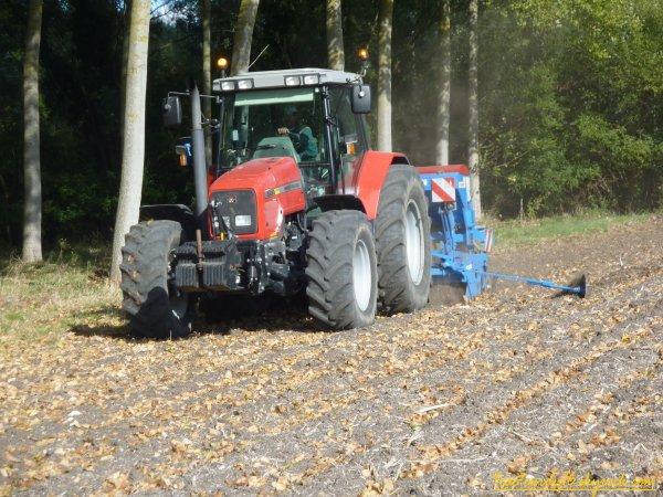 semis de blé 2010 ( 20 octobre 2010 )