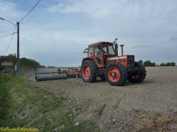 semis de blé et roulage 2010 ( 22 octobre 2010 )
