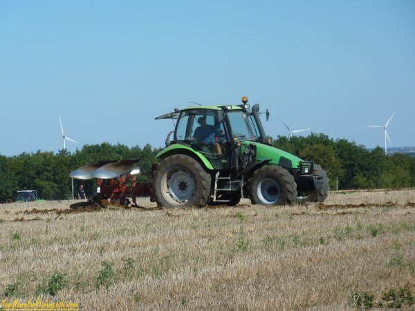 concour de labour à Villefagnan 16 ( 19 septembre 2010 )