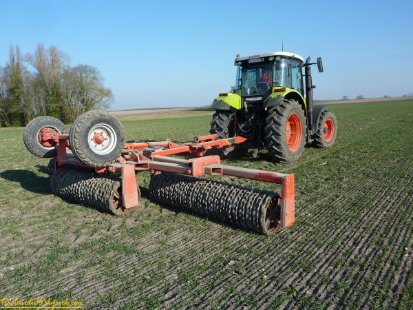 roulage des blés 2011 ( 09 février 2011 )