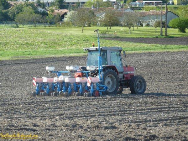 Semis de maïs 2011 ( 06 avril 2011 )