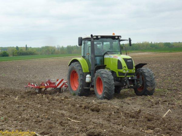 Préparation des terres 2011 ( 11 avril 2011 )