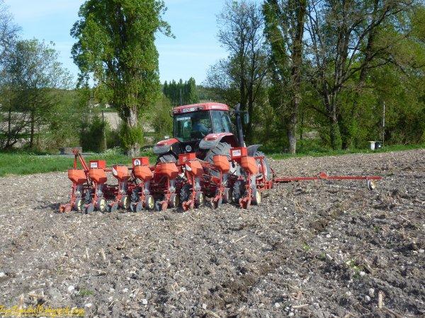 Semis de maïs 2011 ( 13 avril 2011 )